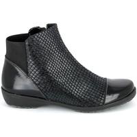 Skor Dam Boots Boissy 8081 Noir Svart