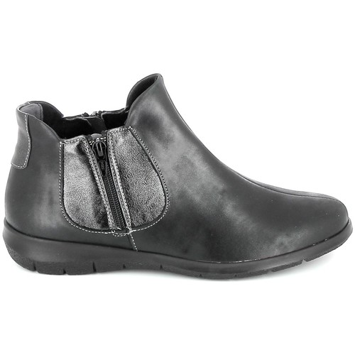 Skor Dam Boots Boissy 66000 Noir Svart