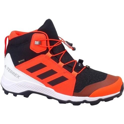 Skor Barn Höga sneakers adidas Originals Terrex Mid Gtx K Svarta, Röda