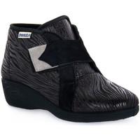 Skor Dam Höga sneakers Emanuela 2302 VOX NERO Nero