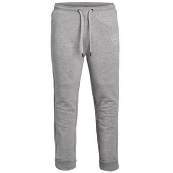textil Pojkar Joggingbyxor Jack & Jones JJIGORDON JJSHARK SWEAT PANT Grå