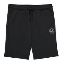 textil Pojkar Shorts / Bermudas Jack & Jones JJI SHARK JJSWEAT Svart