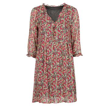 textil Dam Korta klänningar Betty London NEBECCA Röd / Flerfärgad