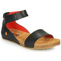 Skor Dam Sandaler Art CRETA Svart / Röd