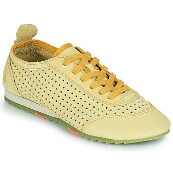 Skor Dam Sneakers Art KIOTO Gul