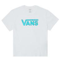 textil Flickor T-shirts Vans ECOLOGY Vit