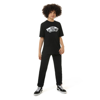 textil Barn T-shirts Vans VANS CLASSIC TEE Svart