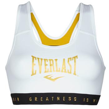 textil Dam Sport-BH Everlast EVL BRAND BR Vit / Guldfärgad