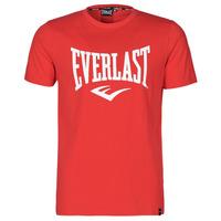 textil Herr T-shirts Everlast EVL- BASIC TEE-RUSSEL Röd