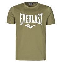 textil Herr T-shirts Everlast EVL- BASIC TEE-RUSSEL Kaki