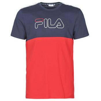 textil Herr T-shirts Fila JOPI Röd / Marin