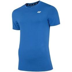 textil Herr T-shirts 4F TSMF002 Blå