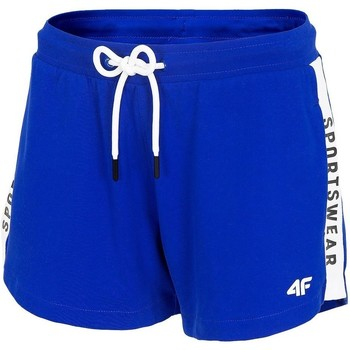 textil Dam Shorts / Bermudas 4F SKDD003 Blå