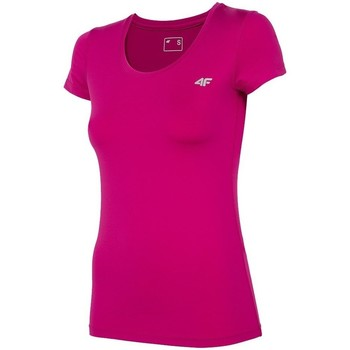 textil Dam T-shirts 4F TSDF002 Rosa