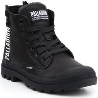 Skor Dam Höga sneakers Palladium Manufacture Pampa UBN ZIPS 96857-008-M black