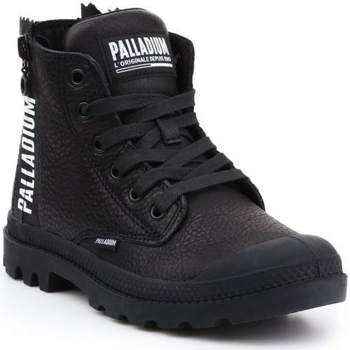 Skor Dam Höga sneakers Palladium Pampa UBN ZIPS 96857-008-M black