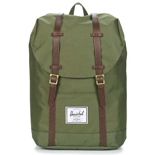 Väskor Ryggsäckar Herschel RETREAT Kaki