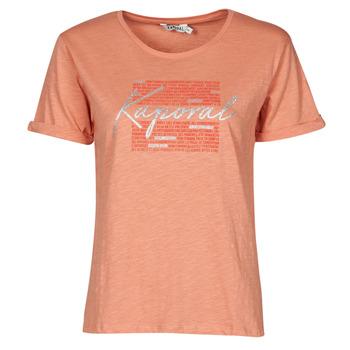 textil Dam T-shirts Kaporal PUZZU Rosa