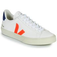 Skor Sneakers Veja CAMPO Vit / Orange / Blå