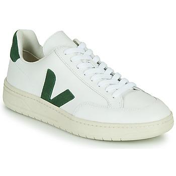 Skor Sneakers Veja V-12 Vit / Grön