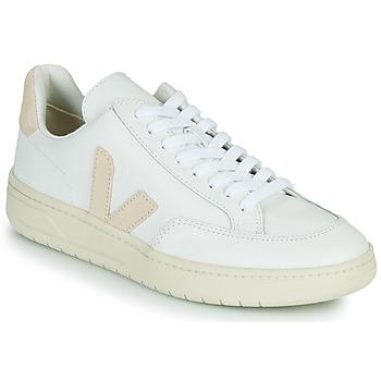 Skor Sneakers Veja V-12 Vit / Beige