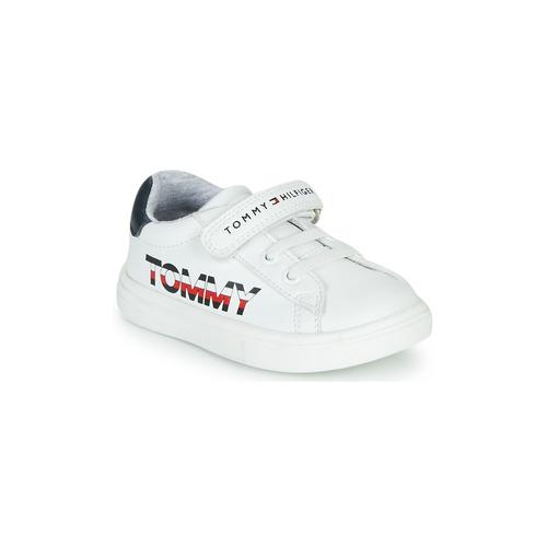 Skor Barn Sneakers Tommy Hilfiger MARILO Vit