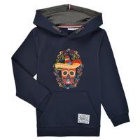 textil Pojkar Sweatshirts Name it NKMTUMBO Marin