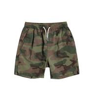 textil Pojkar Shorts / Bermudas Quiksilver TAXER WS Kamouflage