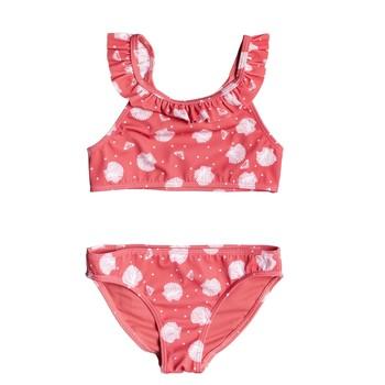 textil Flickor Bikini Roxy TEENY EVERGLOW CROP TOP SET Rosa