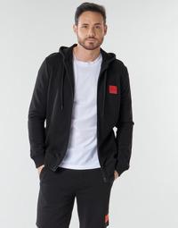 textil Herr Sweatshirts BOSS DAPLE Svart