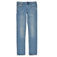textil Pojkar Skinny Jeans Teddy Smith FLASH Blå