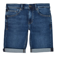 textil Pojkar Shorts / Bermudas Teddy Smith SCOTTY 3 Blå / Mörk