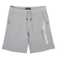 textil Pojkar Shorts / Bermudas Teddy Smith S-MICKAEL Grå