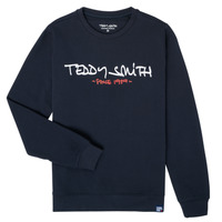 textil Pojkar Sweatshirts Teddy Smith S-MICKE Marin