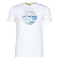 textil Herr T-shirts Oxbow N1TERO Vit