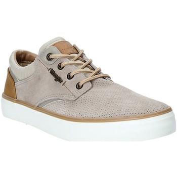 Skor Herr Sneakers Wrangler WM91121A Beige