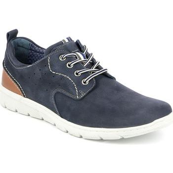 Skor Herr Sneakers Grunland SC4522 Blå