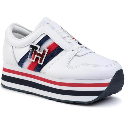 Skor Dam Sneakers Tommy Hilfiger FW0FW04595 Vit