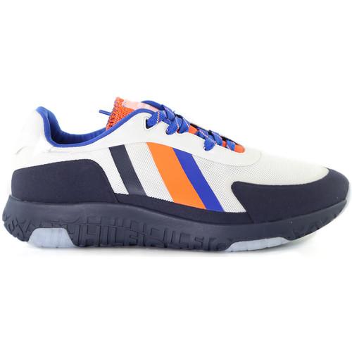 Skor Herr Sneakers Tommy Hilfiger FM0FM02599 Vit