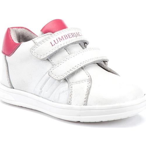 Skor Barn Sneakers Lumberjack SG64912 003 B01 Vit