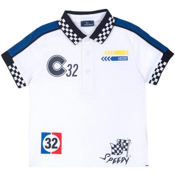 textil Barn T-shirts Chicco 09033560000000 Vit