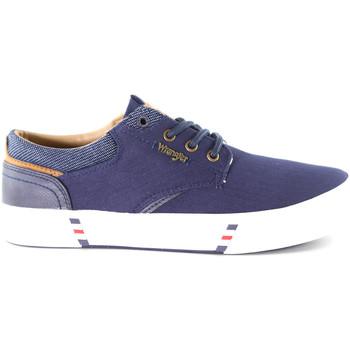 Skor Herr Sneakers Wrangler WM01000A Blå