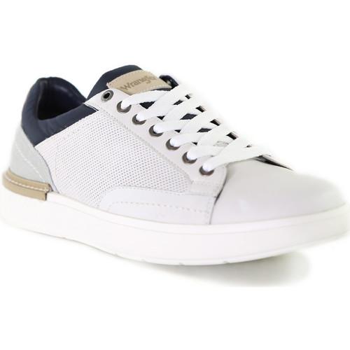 Skor Herr Sneakers Wrangler WM01181A Vit