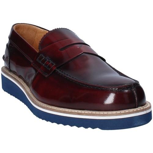 Skor Herr Loafers Exton 5102 Brun