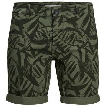 textil Herr Shorts / Bermudas Produkt Takm chino 12171311 Grön