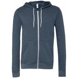 textil Sweatshirts Bella + Canvas CV3739 Marinblått