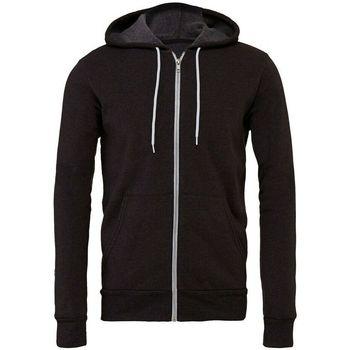 textil Sweatshirts Bella + Canvas CV3739 Mörkgrått ljummet
