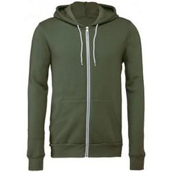 textil Sweatshirts Bella + Canvas CV3739 Militärt grönt