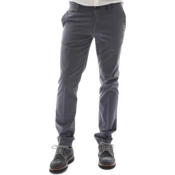 textil Herr Chinos / Carrot jeans Sei3sei 6OYSTER E1653 Svart