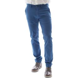 textil Herr Chinos / Carrot jeans Sei3sei 6DAYTONA E1649 Blå